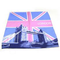 Tower Bridge London Union Jack Flag Bandana (UK)