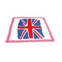 Painted  Union Jack Flag Bandana (UK)