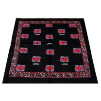Black London Union Jack Flag Bandana (UK)