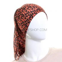 Orange Animal Design Multifunctional Bandana