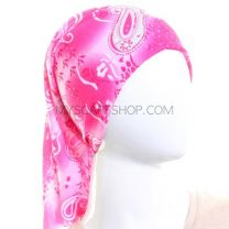 Pink Paisley Multifunctional Bandana