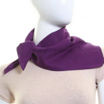Purple Plain Cotton Bandana