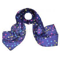 Indigo Silk Tie Dye Scarf