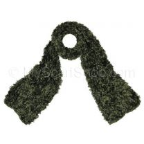 Green Chenille Winter Scarf