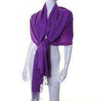 Purple Cashmere Pashmina