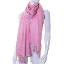 Pink Luxurious Cashmere Pashmina