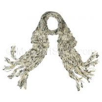 Cream Wool Feel Scarf