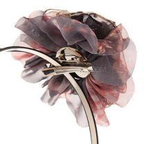 Black Alice Band With Removable Fascinator