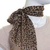 Animal Print 3 in 1 Chiffon Sash Scarf