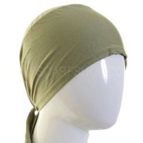 Green Al Amira Tie Back Bonnet