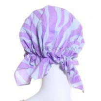 Lilac Zebra Print Headwrap