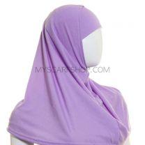 Plain 2 piece hijabs