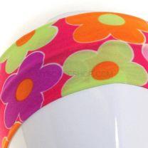 Pink Daisies Print Headband