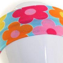 Blue Daisies Print Headband
