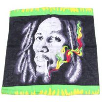Smoking Bob Marley Bandana