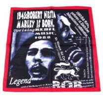 Musician Bob Marley Bandana