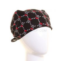 Black Mini Pirate Skulls Bandana