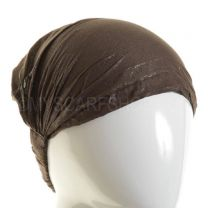 3in1 Brown Glitter Headwrap