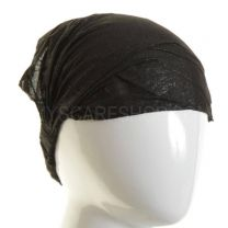 3in1 Black Glitter Headwrap
