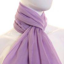 Lilac Chiffon Scarf