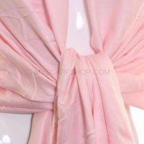 Baby Pink Plain Pashmina