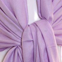 Lilac Plain Pashmina