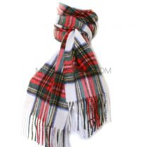 Lambswool Scarf in Dress Stewart Tartan