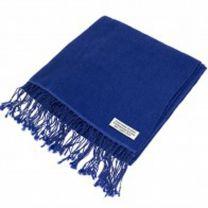 Blue Cashmere Pashmina
