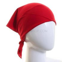 Plain Red Cotton Bandana
