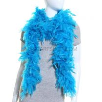 Turquoise Feather Boa