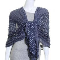 Denim Blue Multi Spot Wrap