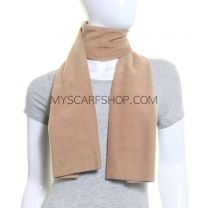 Camel Polar Fleece Scarf