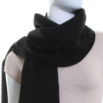Lambswool Scarf (Black)