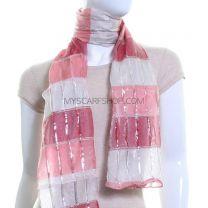 Shimmer Shawl (Pink)
