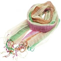 Shimmer Stripes Pashmina (Multicolour)