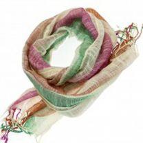 Shimmer Stripes Pashmina