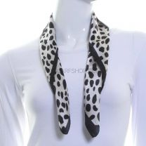 Dalmatian Print Silk Neckerchief