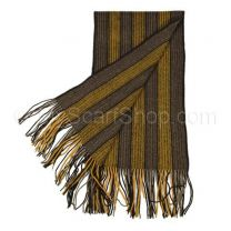 Brown Stripes Wool Scarf