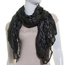 Bobble Lurex Scarf