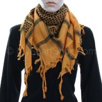 Yellow Arab Scarf (Shemagh)