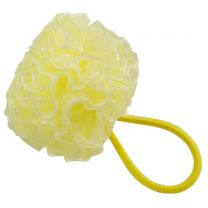 Yellow Ruffle Hairband Scrunchy