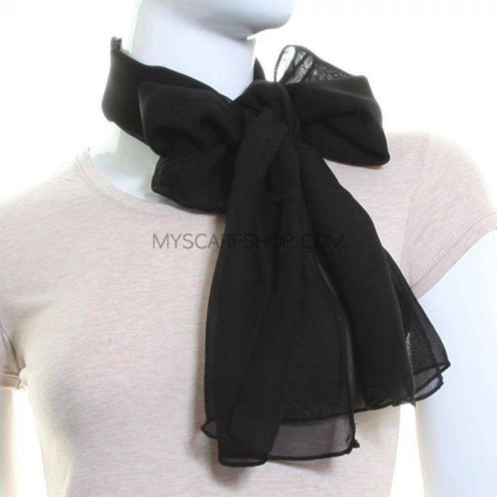 اروع أشكال للأسكارف باللون الاسود 2021 , Scarves in black scarf-shop-0030.jpg